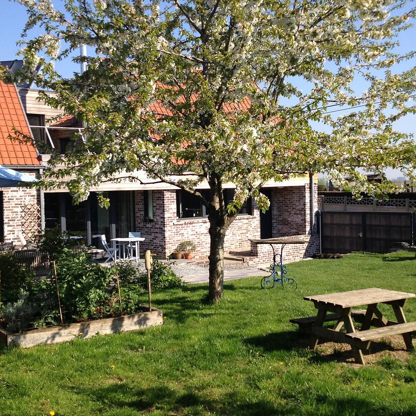 Wandelen, eten en genieten in de Vlaamse Ardennen voor vrijgezellen.