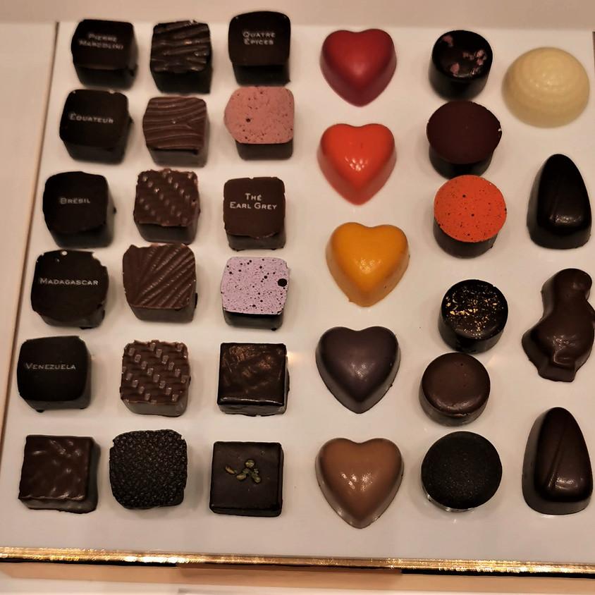 Chocolade wandeling in Lokeren