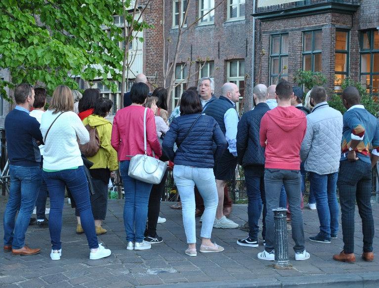 Wandeling met gids in Gent