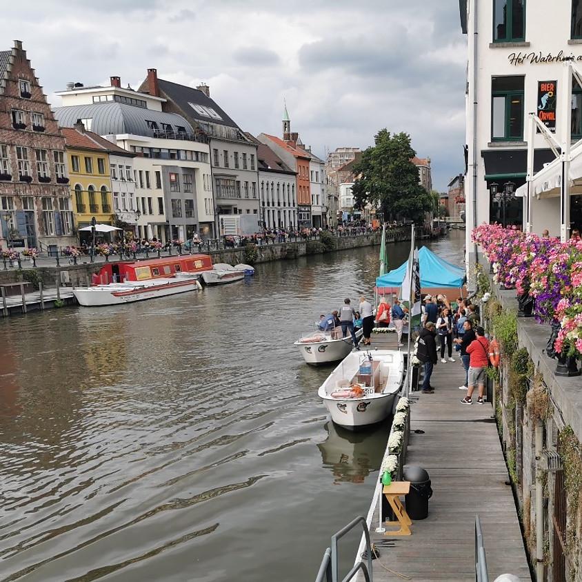 Aperitiefrondvaart Van Eyck in Gent - geannuleerd