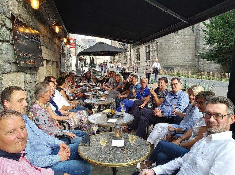 Champagne tasting in Gent