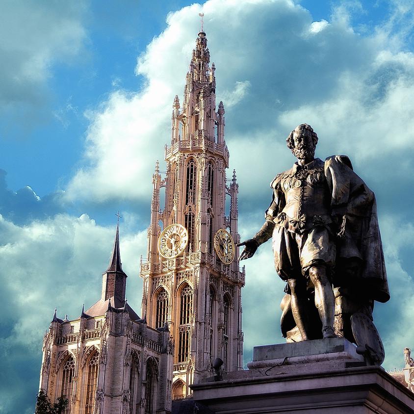 Wandeling met proevertjes in Antwerpen. Leeftijd 32-45jaar.