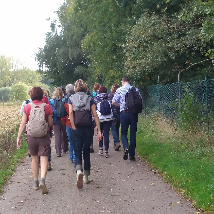 Wandeling in het Stropersbos 10km.
