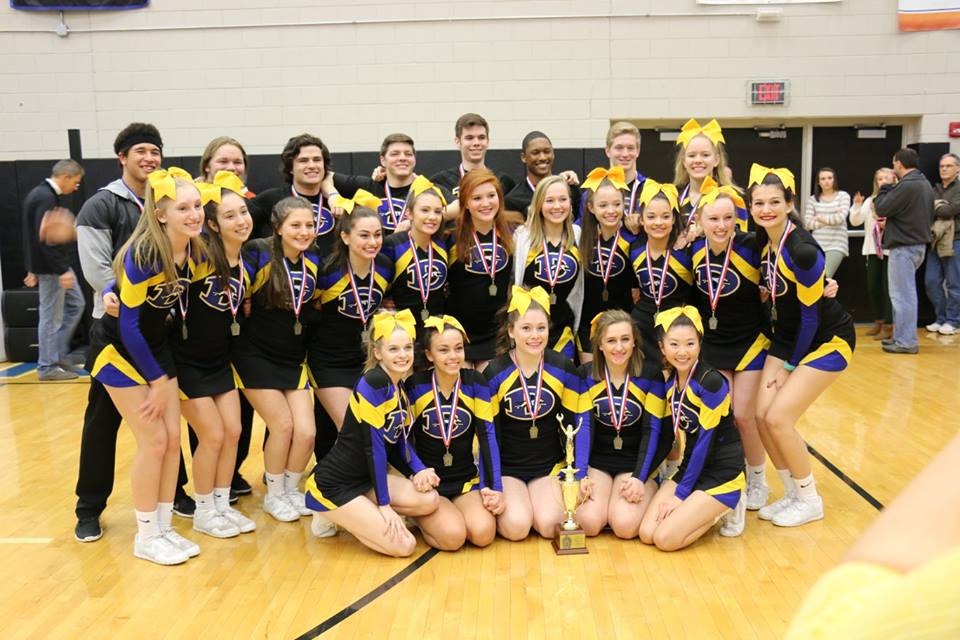 cheer districts