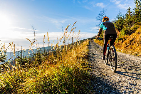 bigstock-Mountain-biking-woman-riding-o-