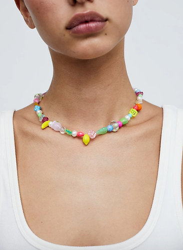 the ian charms x FLL necklace