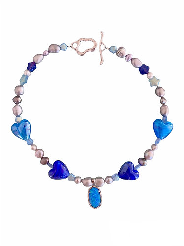 the blueno necklace