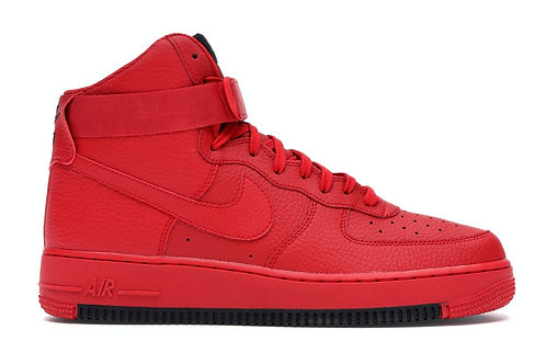 Nike Air Force 1 High University Red Black