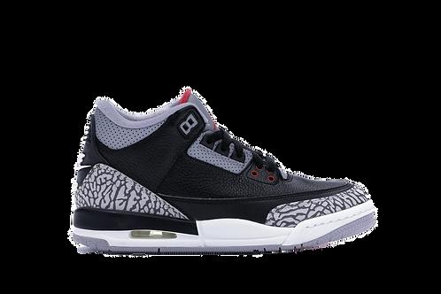 Air Jordan 3 Retro Black Cement 2018 (GS)