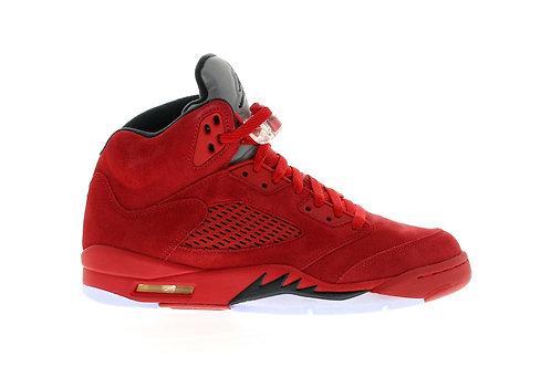Nike Air Jordan 5 Retro Red Suede