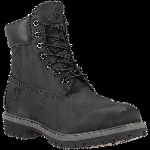 "Timberland 6"" Fabric Boots Black Camo"