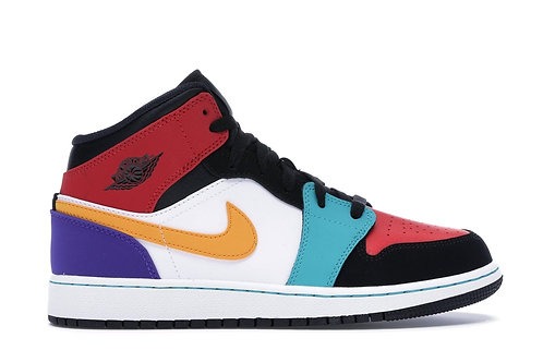 Air Jordan 1 Mid Multi-Color (GS)