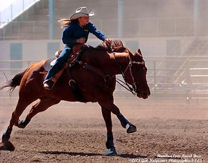 Ty Steele riding Remington in Hamilton.j