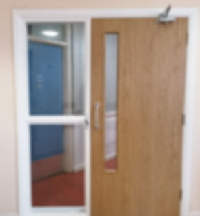 FD30 Oak Foil Single Door with Fire Rate