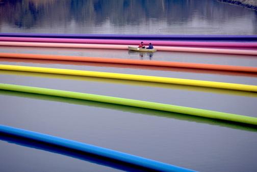 - on the Asahi River, Okayama, Japan
