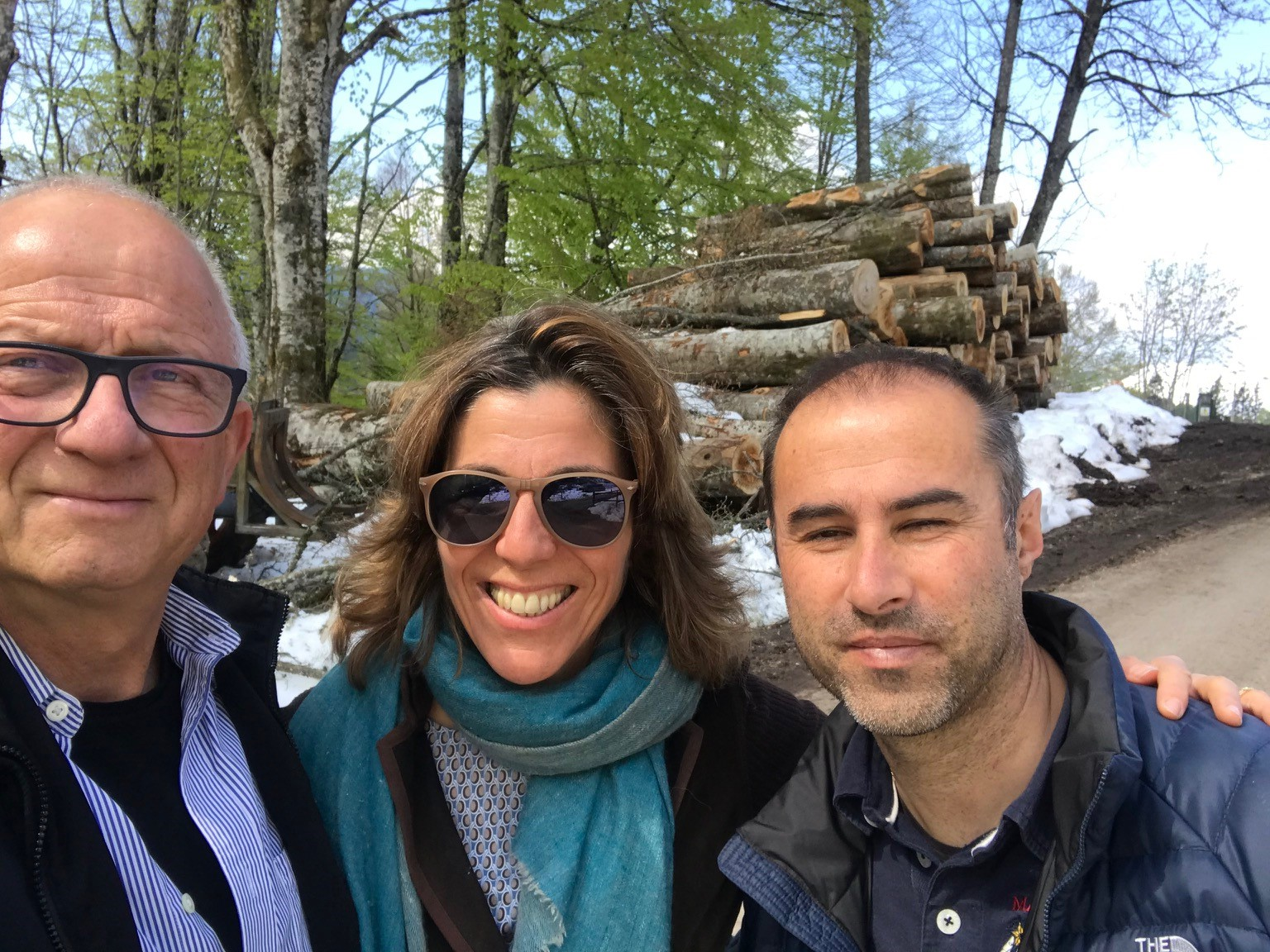 - - at Cansiglio forest - site visit d .