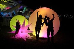 - Standing Spheres