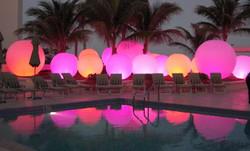- Spheres - Four Seasons hotel- Palm Bea