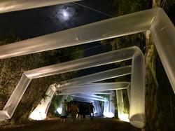 - Glass tunnel, Art Fest, Israel