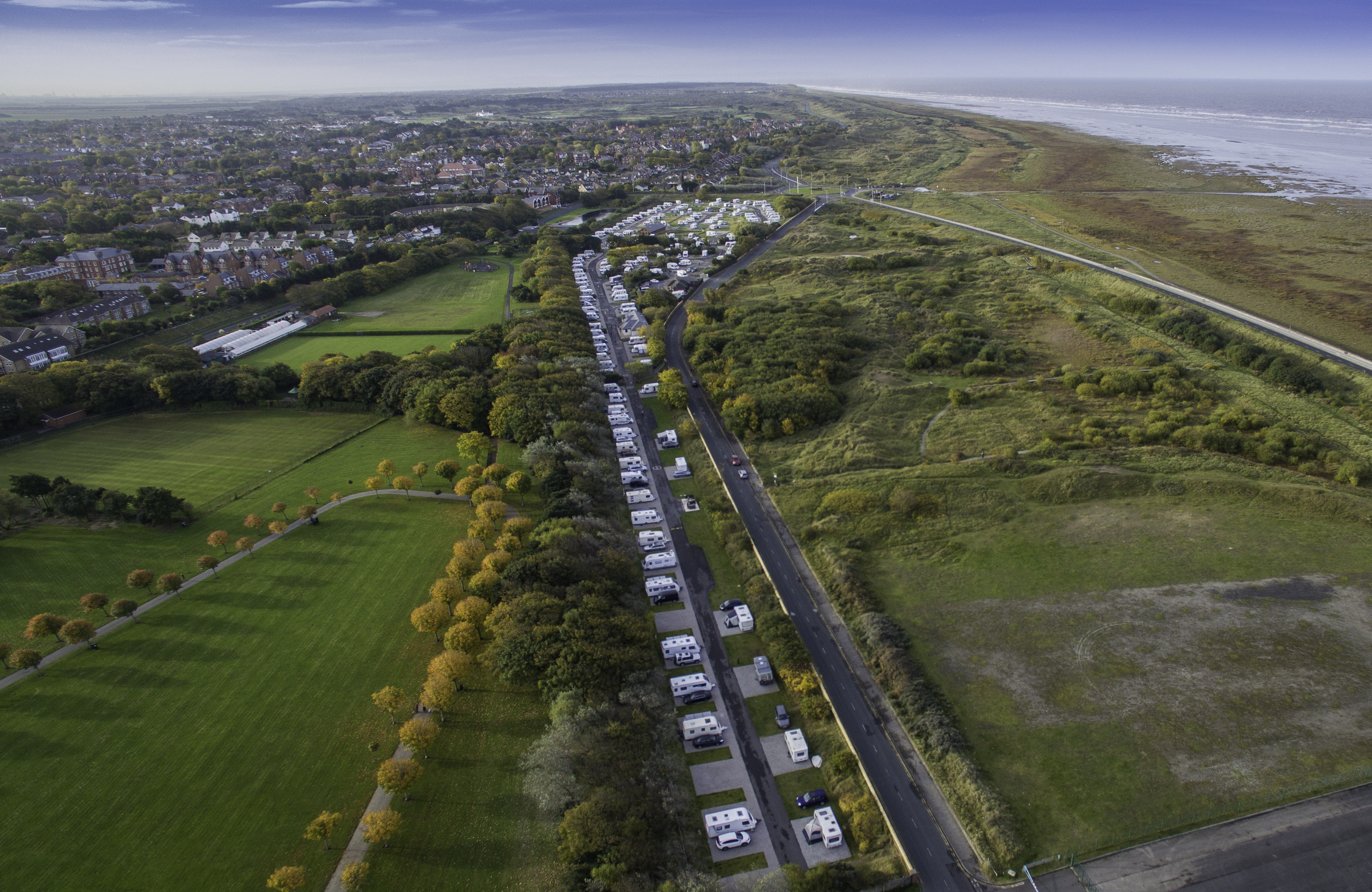 Southport Caravan Club Site