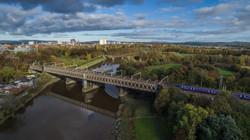 River ribble at preston rail bridge-0001