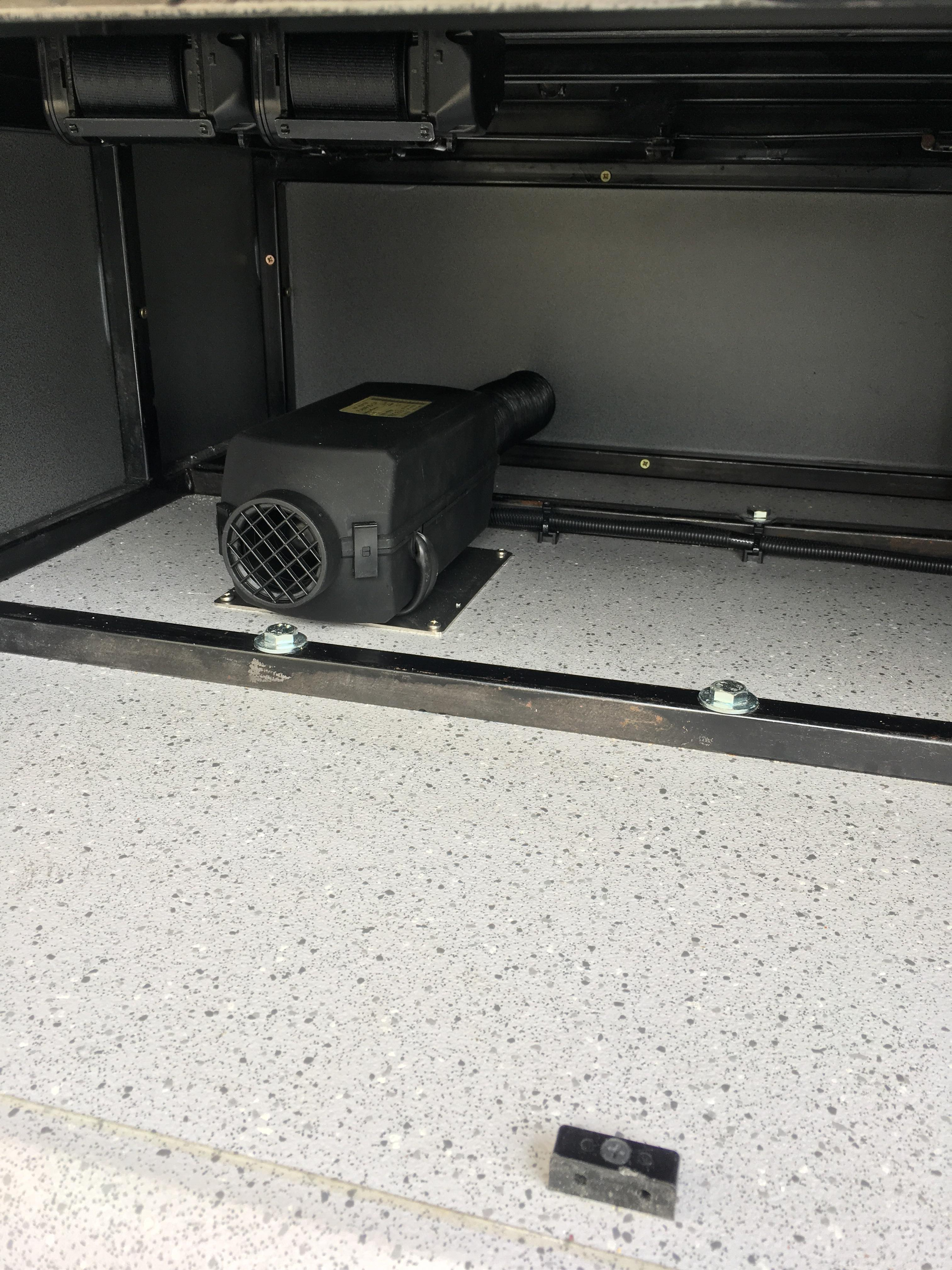 Planar heater fit