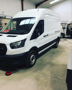Ford Transit heater install