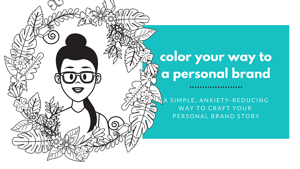 Personal brand coloring book