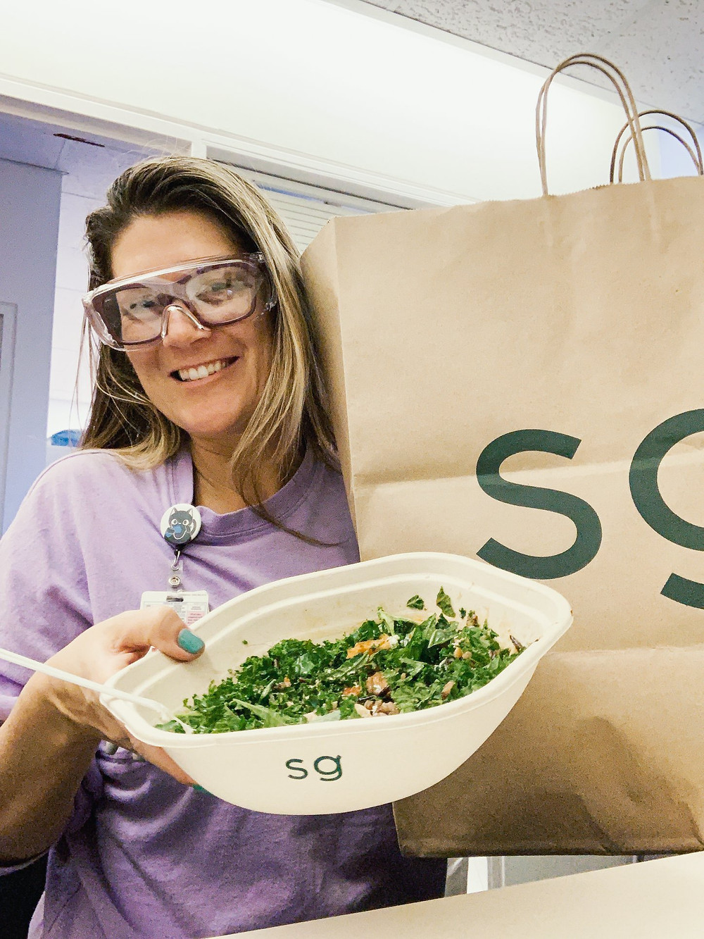 Sweetgreen and free meals for hospital workers