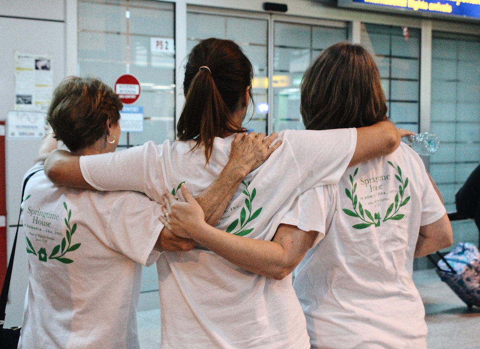 Welcoming our Volunteers at the Airport