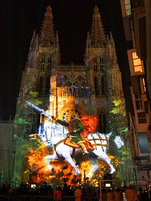 VideoMappingpping Catedral de Burgos