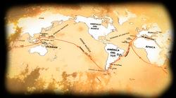 Audio Visuales 500 años del Viaje de Magallanes Acuario de Sevilla