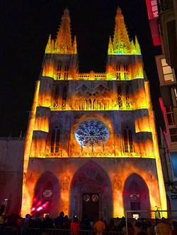 VidVideeo Mapping Catedral de Burgos