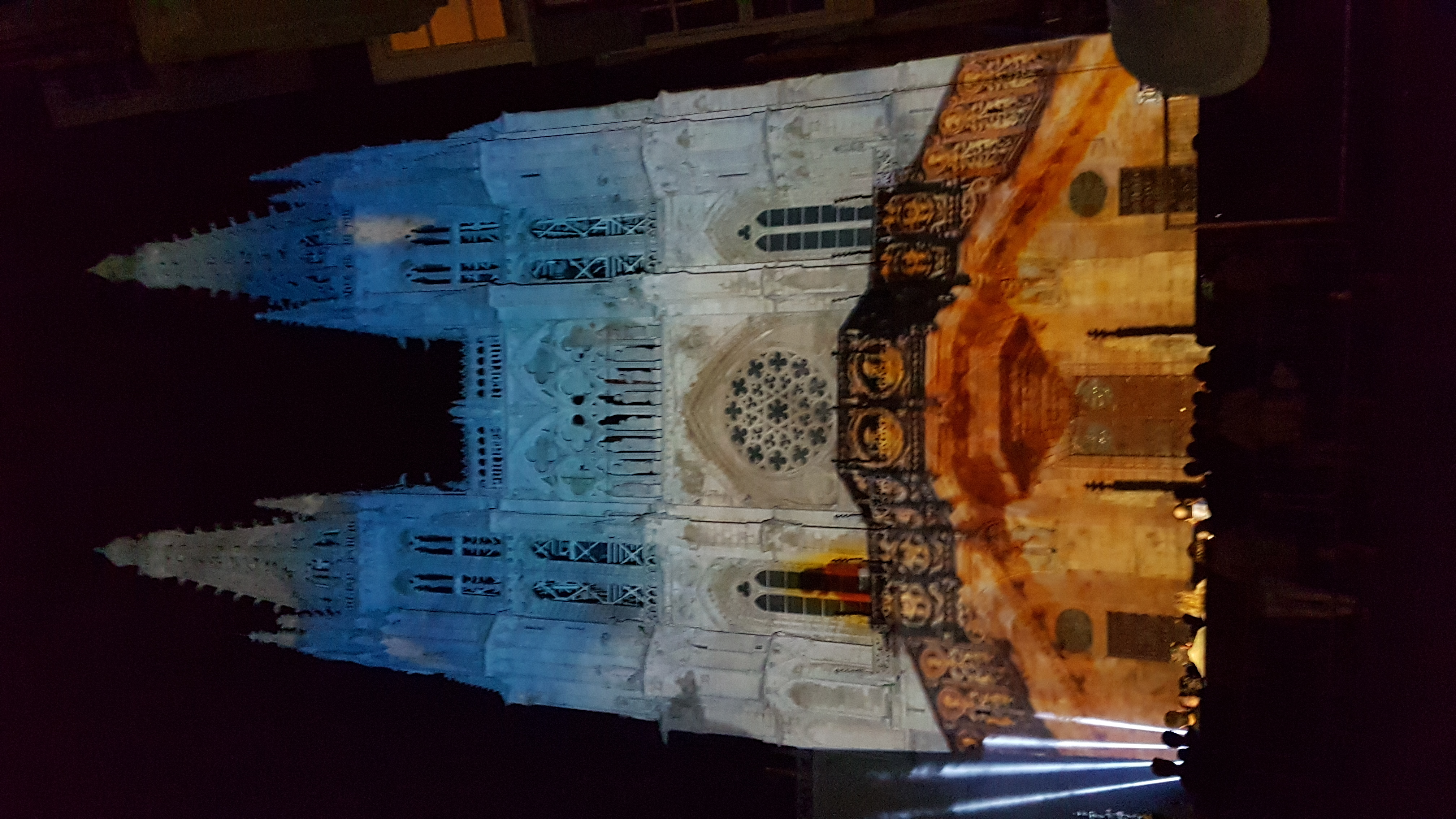 Video Mapping CateVidedral de Burgos