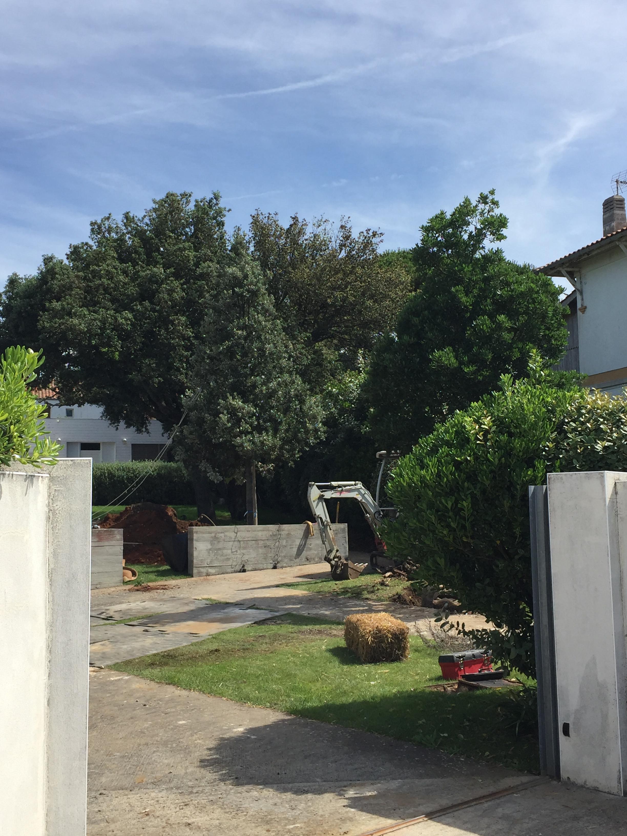 Jardin de particuliers