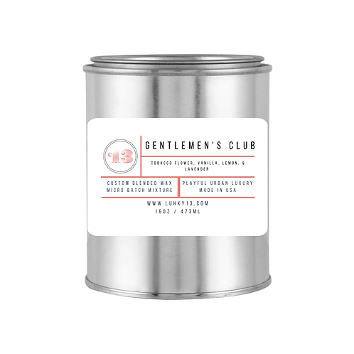 gentlemen's club scented candles