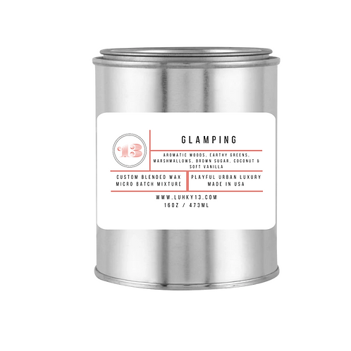 glamping scented candles