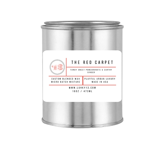 the red carpet candle