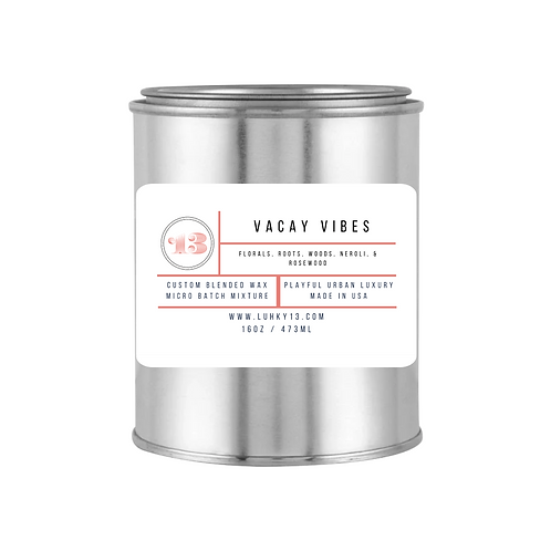 vacay vibes scented candles