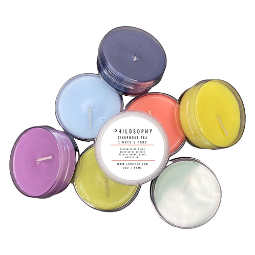 philosophy tea lights & pods