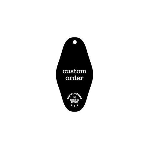 custom ID and key tag