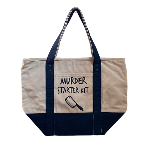 murder starter kit tote