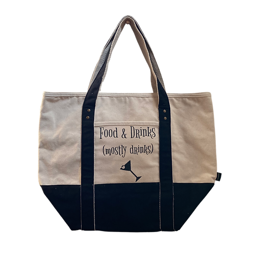 food & drinks tote