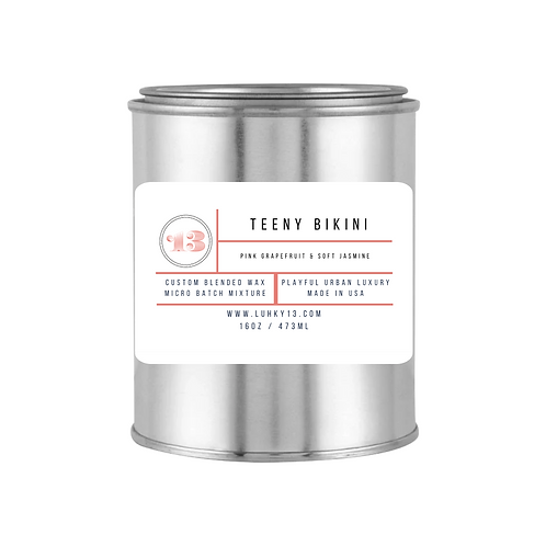 teeny bikini scented candles