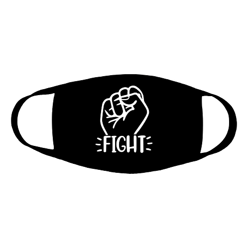 fight cotton face mask