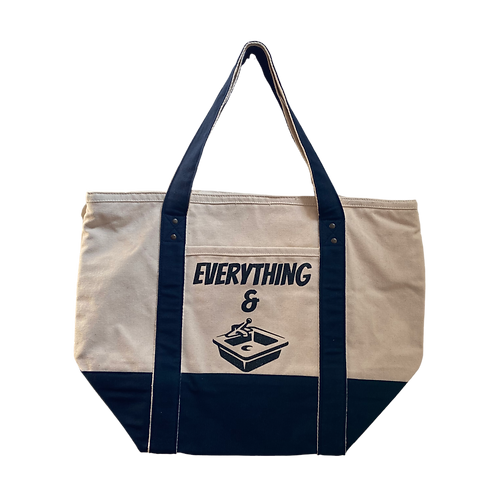 everything & kitchen sink big ass tote bag