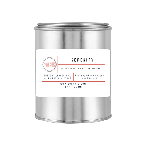 serenity scented candles