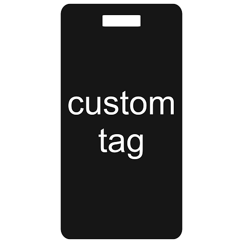 tag it custom metal bag and luggage tag