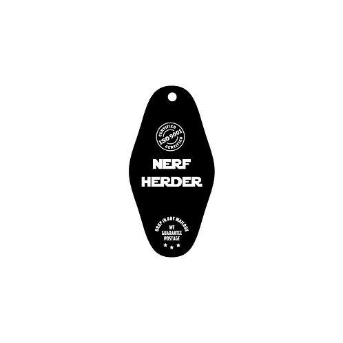 nerf herder vintage ID and key tag