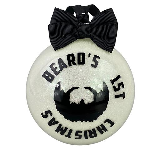beard's 1st christmas (glow in the dark)